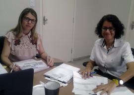 Maria Eunice e Cláudia Veras 02 270x193 - Governo discute ações para ampliar segurança sanitária