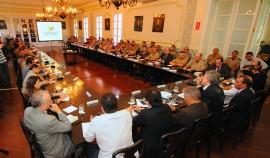 REUNIÃO SEGURANÇA15  270x158 - Paraíba mantém redução de mortes por assassinato durante cinco anos consecutivos