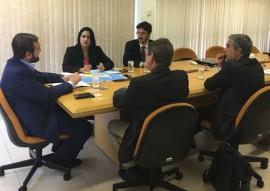 diretora do porto de cabedelo em brasilia gilmara 2 270x191 - Presidente da Companhia Docas discute melhorias na infraestrutura portuária da Paraíba em Brasília