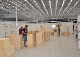preparativos para o salao de artesanato foto vanivaldo ferreira 2 270x191 - Estrutura da 25ª edição do Salão do Artesanato da Paraíba começa a ser montada