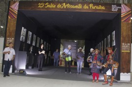 salao de artesanato 1 270x177 - Ricardo abre 25ª edição do Salão de Artesanato da Paraíba