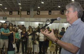 salao de artesanato 5 270x174 - Ricardo abre 25ª edição do Salão de Artesanato da Paraíba