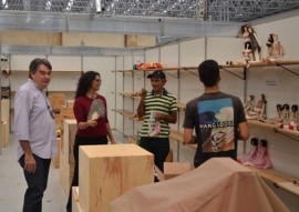 sec de turismo visita preparativos para o salao de artesanato foto vanivaldo ferreira 10 270x191 - Governo ultima preparativos para abertura do Salão de Artesanato da Paraíba