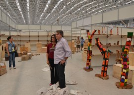 sec de turismo visita preparativos para o salao de artesanato foto vanivaldo ferreira 16 270x191 - Governo ultima preparativos para abertura do Salão de Artesanato da Paraíba