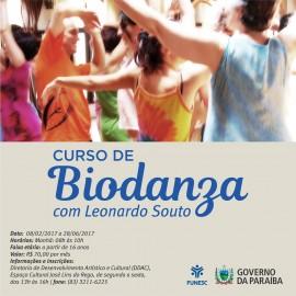 curso biodanza 270x270 - Fundação Espaço Cultural abre inscrições para curso de Biodanza