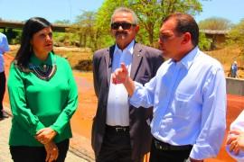 ligia transposição1 270x180 - Vice-governadora inspeciona obras da transposição do Rio Francisco