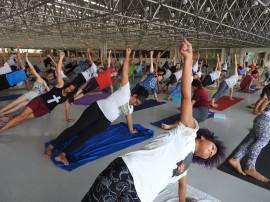 yoga no espaço cultural6 270x202 - Funesc e Espaço Arte Yoga reafirmam parceria e realizam aulão gratuito no Espaço Cultural