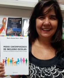 Marta Helena burity Serpa 221x270 - Fundação Casa de José Américo sedia lançamento de livro sobre inclusão escolar