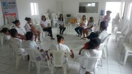 Roda de conversa no presídio Júlia Maranhão 1 270x152 - Banco de Leite Anita Cabral participa de ação sobre aleitamento materno no Presídio Feminino Júlia Maranhão