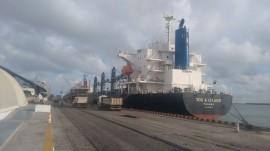 navio You Island decarregando petcoke 270x151 - Porto de Cabedelo movimenta mais de 120 mil toneladas de petcoke em 30 dias