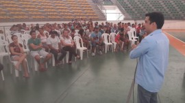 reunião sejel2 270x151 - Sejel reúne pais de alunos matriculados nas escolinhas do Ronaldão e informa sobre atividades