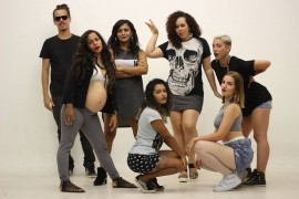 sinta a liga crew3 270x180 - Primeira edição de 2017 do projeto Quinta Black tem rap e discotecagem no Espaço Cultural