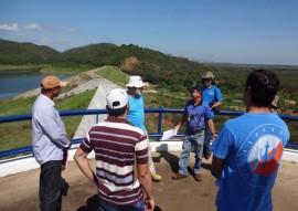 tecnicos da ANA fazem vistoria da barragem de capoeira 1 270x191 - Técnicos da ANA fazem vistoria na barragem Capoeira e elogiam serviços executados