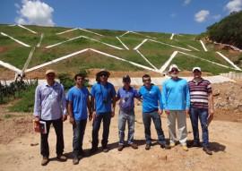 tecnicos da ANA fazem vistoria da barragem de capoeira 2 270x191 - Técnicos da ANA fazem vistoria na barragem Capoeira e elogiam serviços executados