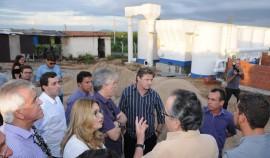 ITAPORANGA ETA1  270x158 - Ricardo inspeciona construção de Escola Técnica e Estação de Tratamento d'água em Itaporanga