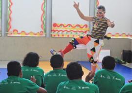 ses hosp juliano recebe oficina de circo da funesc e usuarios ficam encantados foto ricardo puppe 5 270x191 - 'Escola do Circo' encanta usuários do Juliano Moreira e ajuda na recuperação