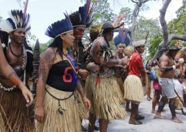 vice gov ligia baia da traicao dia do indio foto junior fernandes 221 270x191 - Dia do índio: Governo entrega melhorias para a população indígena