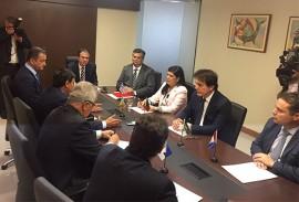 ligia participa de encontro de governadores 4 270x183 - Vice-governadora participa de reunião de governadores em Brasília
