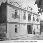 1936 - quartel dos bombeiros na avenida Barão de Abihay, na capital