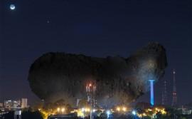 foto montagem de aasteroide 2 270x167 - Dia do Asteroide tem evento internacional, palestras e exposição de meteoritos na Funesc