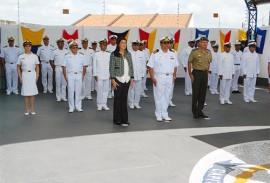 ligia na cerimonia da marinha foto ascom da capitania dos portos 1 270x183 - Vice-governadora participa de cerimônia da Batalha Naval do Riachuelo