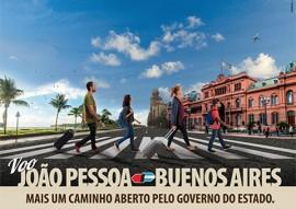 pb tur anuncios e postagens 1 270x191 - Tango e músicas folclóricas da Paraíba marcarão chegada do 1º voo entre Buenos Aires e João Pessoa neste sábado