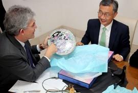 ricardo recebe embaixador da correia Jeong Lee foto francisco franca 11 270x183 - Ricardo mostra potencialidades da Paraíba e discute parcerias com embaixador da República da Coreia