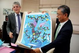 ricardo recebe embaixador da correia Jeong Lee foto francisco franca 3 270x183 - Ricardo mostra potencialidades da Paraíba e discute parcerias com embaixador da República da Coreia