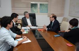 ricardo recebe representante da ONU foto francisco franca 2 270x175 - Ricardo discute parcerias com representantes do Fundo de População das Nações Unidas no Brasil
