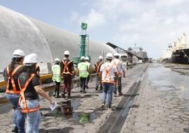 estudantes conhecem tecnica de seguranca do trabalho do porto de cabedelo 1 270x191 - Estudantes conhecem técnicas de segurança do trabalho do Porto de Cabedelo