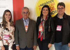 vice gov ligia abertura da francal em sao paulo 1 270x191 - Vice-governadora participa da abertura da Feira Internacional de Calçados, em São Paulo
