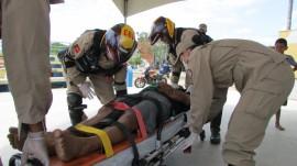 ATENDIMENTO PRÉ HOSPITALAR 2 270x151 - Corpo de Bombeiros abre inscrições para minicurso gratuito de primeiros socorros