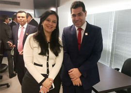 gilberto carneiro e ministra da AGU grace mendonca 1 270x191 - Procuradorias Gerais dos Estados assinam acordos de cooperação com a AGU, em Brasília