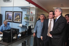 inauguração al foto alberi pontes 270x180 - Ricardo participa da inauguração do Centro Administrativo do Poder Legislativo