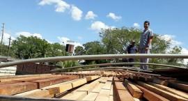 operacao de cargas irregulares receita estadual 2 270x145 - Operação conjunta da Receita Estadual e PRF apreende carretas de granito e de madeira irregulares