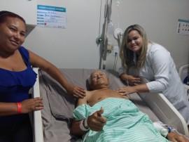 paciente centenário 270x202 - Hospital de Traumatologia e Ortopedia da Paraíba realiza cirurgia em idoso de 107 anos