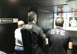 seds policia recebe treinamento com simulador movel de tiro em monteiro 2 270x191 - Policiais civis recebem treinamento com simulador móvel de tiro em Monteiro