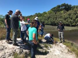 visita trilhas1 270x202 - Estudantes do curso de Gestão Ambiental do IFPB visitam Parque Estadual das Trilhas
