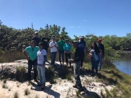 visita trilhas2 270x202 - Estudantes do curso de Gestão Ambiental do IFPB visitam Parque Estadual das Trilhas