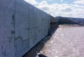 22 09 17 SEIRHMACT barragem farinha 1 270x183 - Obras de recuperação das barragens Chã dos Pereiras e Farinha estão em fase de conclusão