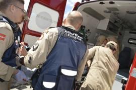 ATENDIMENTO PRÉ HOSPITALAR 270x179 - Corpo de Bombeiros registra 261 ações no fim de semana