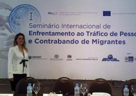 sedh seminario internacional 2 270x191 - Paraíba participa de Seminário Internacional de Enfrentamento ao Tráfico de Pessoas