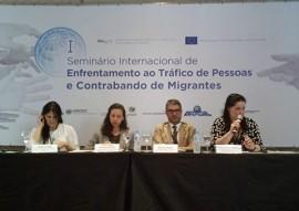 sedh seminario internacional 4 270x191 - Paraíba participa de Seminário Internacional de Enfrentamento ao Tráfico de Pessoas