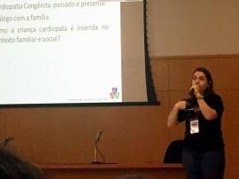 Dra. Nicoly Negreiros durante apresentação dos dados de Patos 270x202 - Maternidade de Patos recebe prêmio Amigo do Coração