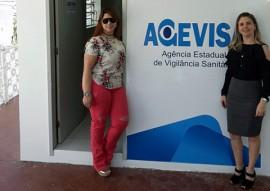 Karina Lígia e Maria Eunice na sede da Agevisa em Campina Grande 270x191 - Agevisa inaugura nova sede em Campina Grande e melhora condições de atendimento ao setor regulado