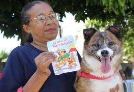 Vacinação FOTO Ricardo Puppe1 270x187 - Dia D de vacinação contra a raiva animal acontece neste sábado em toda a Paraíba
