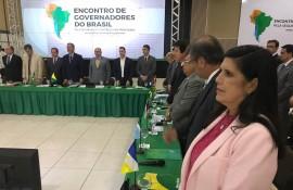 ligia se reune no acre pelo controle das fronteiras 1 270x175 - Vice-governadora participa de Encontro de Governadores pela Segurança e Controle das Fronteiras