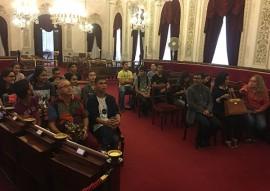 see estudantes do gira mundo espanha sao recebidos por representantes do governo espanhol (1)