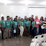 Profissionais da Maternidade, integrantes da CIPA e coordenadores da Sipat