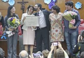 RicardoPuppe TituloCidadã ClaudiaVeras 471 270x188 - Secretária de Estado da Saúde recebe título de Cidadã Pessoense